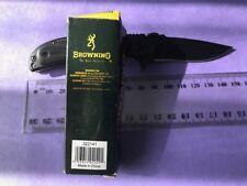 Black edition Browning 338  Folding knife