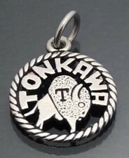 James Avery Tonkawa Disk Charm Sterling Silver