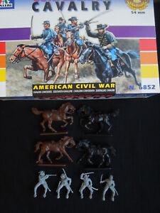 1/2 Italeri 6852 Confederate Cavalry 1:32 figures