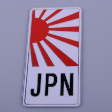 JPN Japan Japanese Metal Yamato License Plate Emblem Badge Sticker SideBar Decal