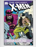 The Uncanny X-Men Days of Future Past #1 1989 VF- TPB 1St. Print Marvel Comics
