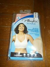 Playtex 18 Hour Bra 40D Breathable Comfort 4 Way Support Wirefree Vanilla NEW