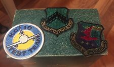 MILITARY PATCH LOT 8TH TACTICAL FIGHTER WING KC 10 REAGITE UT DEFENDANTS USAF 4