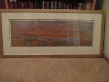 "Abstract Oil Painting by Carol Schwennesen, ""Open Sesame"", (Sun Rise?)"