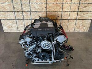 EMGINE MOTOR BLOCK ASSEMBLY W/SUPERCHARGER OEM 102K 12-17 AUDI A6 A7 A8 3.0T