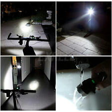 Super Bringht Bicycle Bike LED Front Light Headlamp Headlight Black Outdoor Lamp