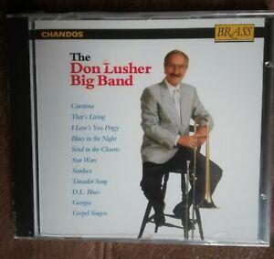 DON LUSHER BIG BAND 1992 CD  NEW SEALED JAZZ SWING