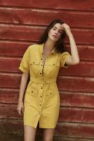 NEW Anthropologie  Nikola Utility Mini Dress SIZE S
