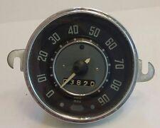 Volkswagon Speedometer. Vintage 1962 Volkswagon Beetle Speedometer