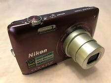 Nikon Coolpix S4300 16MP wide 6X Zoom 4.6-27.6mm