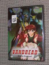 Vandread Anime DVD Volume #1: Enemy Engaged! 2001 Pioneer - Brand NEW