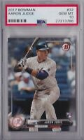 2017 BOWMAN AARON JUDGE ROOKIE CARD PSA 10