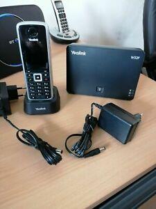 Yealink W52P IP Cordless Handset with Base Unit - Used