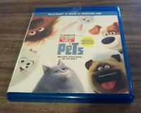 THE SECRET LIFE OF PETS Blu-ray DVD Combo NEW