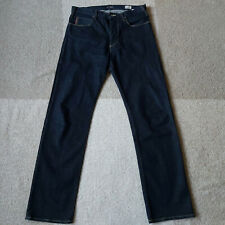 Armani Jeans J21 Regular Fit Button Fly Comfort Fabric 33x34 Dark Mint Condition