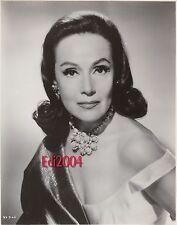 """DOLORES DEL RIO Vintage Original Photo '60 """"FLAMING STAR"""" Older Actress Portrait"""