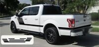 Ford F-150 Side Vinyl Graphics Kit Speedway Truck Decals Stripes For 2015-2019