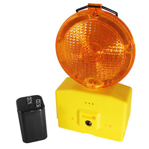 Baustellenlampe LED Baustellenleuchte Signallampe Baulampe Warnleuchte Leuchte