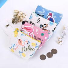 EG_Dessin Animé Flamingo Petit sac porte-monnaie Change Zero cadeau moderne