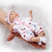 Mini Handmade Real Looking Reborn Baby Doll Vinyl Silicone Alive Preemie Dolls
