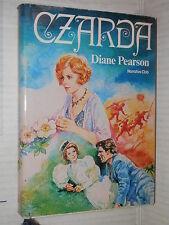CZARDA Diane Pearson Euroclub 1983 Narrativa Club Cin Calabi romanzo libro di