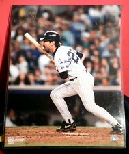 """NY YANKEE D.MATTINGLY AUTO'D 16""""X20"""" PICTURE WITH # 23 & """"222 HRS"""" INSCRIPTION"""