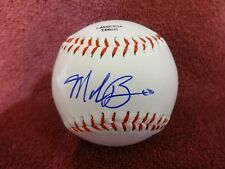 MIKE BIANCO OLE MISS REBELS SIGNED RAWLINGS BASEBALL W/COA