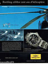 PUBLICITE ADVERTISING 046  2007  Breitling  montre Aerospace CO-Pilot Paul Cornu