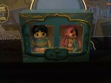 "Disney Vinylmation 3"" Park Set 1 Art of Jasmine D23 Box Set Aladdin New Sealed"