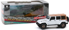 Greenlight 2018 Jeep Wrangler Unlimited Golden Eagle White 1:43 Diecast 86173