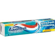 3X Aquafresh Extra Fresh Whitening Tube Toothpaste  3.0 oz