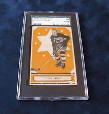 EDDIE SHORE #3 1933-34 V304A OPC SERIES A ROOKIE CARD / BOSTON BRUINS / SGC 10