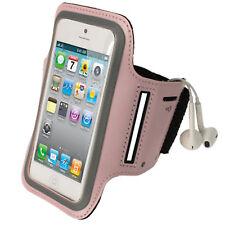 Rosa Fascia Braccio per Nuovo Apple iPhone 5 5S 5C SE 4G Sport Palestra Corsa