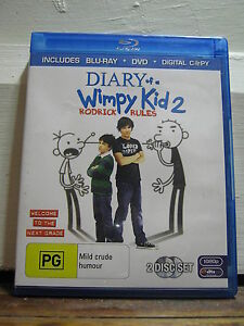Diary of a Wimpy Kid 2 - 2 Disc - Used - Blu Ray