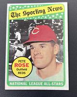 1969 Topps #424 Pete Rose Cincinnati Reds
