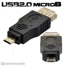 """USB OTG ADAPTER USB Micro B Stecker auf USB A Buchse für Smartphone"