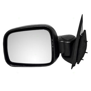 CH1320226 NEW VISION REPLACEMENT Manual Door Mirror LH fits 02-07 Jeep Liberty