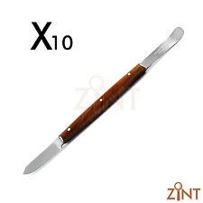 10 pcs Fahen Wax Knife Porcelain Modeling Carver Lab Tool Dental Mixing Spatula