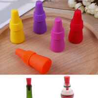 Wine Stopper Cork Bottle Plug Silicone Sealed Bottle Stopper Bar AccessoriesATfw