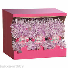 2m Tricolour Christmas Snowspot BLUSH PINK Hello Kitty Tinsel Garland Decoration