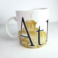 Starbucks Collector Series Coffee Cup Mug Atlanta Vintage 1994 Big 16oz.