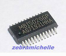 2pcs SMD IC MBI5026GP TAIWAN Provide Tracking Number