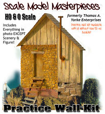 Practice Wall with Details Kit Scale Model Masterpieces/Yorke HO Fine Craftsman