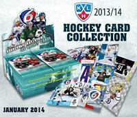 SELLOFF - 5 BOXES OF EXCLUSIVE KHL ICE HOCKEY TRADING CARDS COLLECTION SeReal