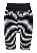 17/18 Steiff Dulce TEDDY Pantalones deportivos, azul oscuro de rayas talla 80 +