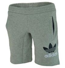 Shorts e bermuda grigi marca adidas per bambini dai 2 ai 16 anni
