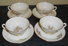 (4) LENOX HARVEST CUP AND SAUCERS