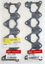 x2 NEW OEM 06-11 Kia Rio 2841126900 Engine Intake Manifold Gasket