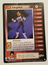 2000 Dragon Ball Z Saiyan Saga Limited #173 Vegeta (Level 1) Rare HTF Card
