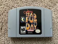 Conker's Bad Fur Day (Nintendo 64, N64, 2001) CART ONLY, 100% Authentic, TESTED